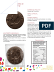 Ficha Tecnica Galletas de Chocolate