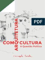 Arquitetura como Cultura - Campelo Costa