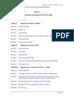 Colocaciones y servicios ASFI