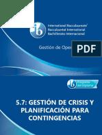 5 7 Gestion de Crisis y Planificacion Para Contingencias