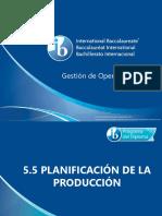 5 5 Planificacion de La Produccion