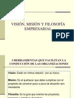 Mision Vision y Filosofia Clase Domingo