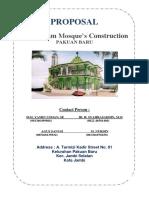 Proposal Pembangunan Masjid Darusalam 1-English