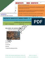 Aptoinn Nata Aesthetic Sensitivity Sample Paper - 5