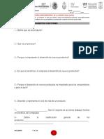 Examen Unidad 1 Diseño y Mejora de Productos y Procesos