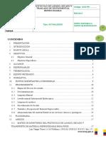 2. Protocolo de Lavado, Secado y Transporte de Maerial Reprocesable. 2(1)