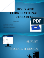 2. Survey and Correlational Week 2