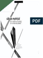Cálculo Matricial De Estructuras De 1er Y 2do Orden - Ramon Argueles Alvarez.pdf
