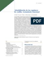 2008 Rehabilitación de los esguinces de rodilla, tratamiento funcional.pdf