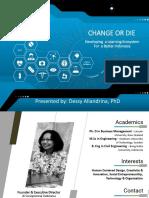 Change or Die - Dessy