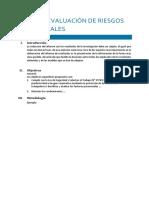 Informe Evaluación de Riesgos Psicosociales
