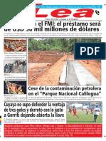 Periódico Lea Viernes 8 de Junio Del 2018