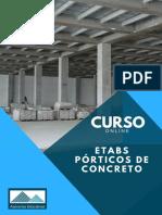 CURSO ETABS Pórticos de Concreto