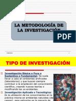 SESION N° 002 - METODOLOGIA DE LA INVESTIGACION