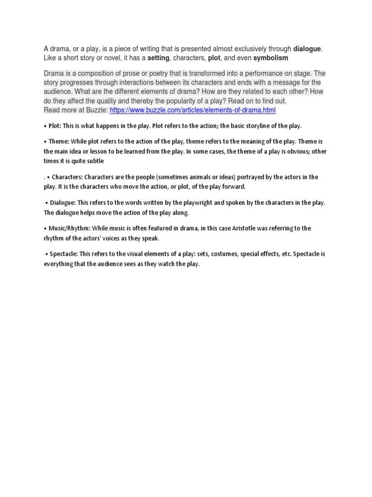 a drama.docx | plot (narrative) | play (theatre)