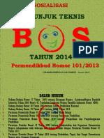 Sosialisasi BOS 2014