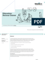 Games in Education - Serious Games - A Literature Review