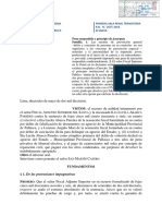 R.N. Del Santa Criterios de Plazo