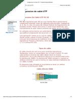 Configuracion de Cable UTP - Portafolio Beatriz Elizabeth