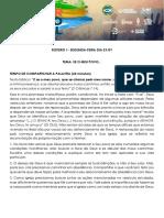 Estudo PGM Clamor Pelo Brasil