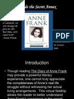 Anne Frank Fieldtrip