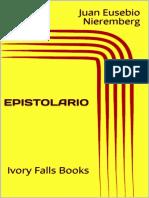 EPISTOLARIO - Juan Eusebio Nieremberg