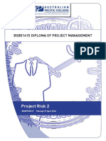 Project Risk 2 Workbook v1.3