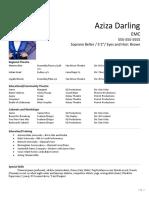 Acting Resume (1)