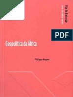 Geopolítica Da África- Philippe Hugon