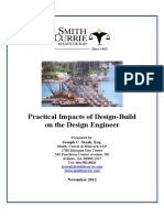 JCS - Practical Impacts on Design-Build