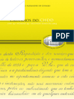 1116-Cadernos Do CHDD Ano 13 Numero 25 Segunda Edicao eBook