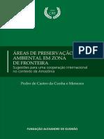 1133 Areas de Preservacao Ambiental Em Zona de Fronteira eBook