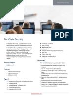 FortiGate Security Course Description Online