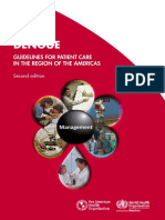 2016 Cha Dengue Guide Patient Care Americas