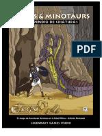 Mazes & Minotaurs - Compendio de Criaturas