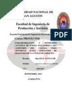 Informe de Proyectos