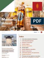 Memoria Anual 2016B Backus