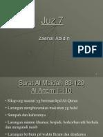 juz 7