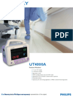 Philips Goldway UT4000A Patient Monitor1