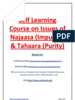 Basic course on Tahara (Purity) according to Hanafi Madhab