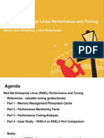 Red Hat Enterprise Perf Tuning