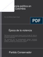 Unidad 7 Violencia Política en Colombia - Juan Zapata