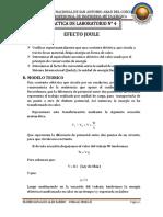 Efecto Joule Informe 4