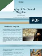 Biography of Ferdinand Magellan PROJECT