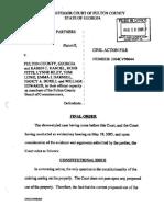 Delta Cascade Partners III Prime v Fulton County