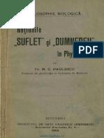 """Noțiunile """"Suflet"""" Și """"Dumnezeu"""" In Physiologie [1905].pdf"""