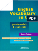 0521557372 - Stuart Redman Cambridge) - English Vocabulary