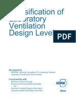 Classification of Lab Vent Des Levels