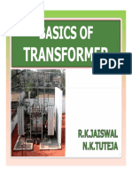 Basics of Transformers