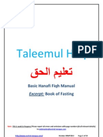 Updated Taleemul-Haq (Book of Fasting)